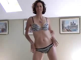 non-professional wife stripping