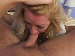 Fifty y.o. Blond Older Lady Sexy SEX (POV)