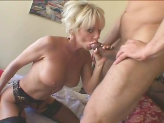 Sexy Old Golden-haired Milf Cara Lott