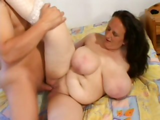 Valuable large chunky saggy breasts