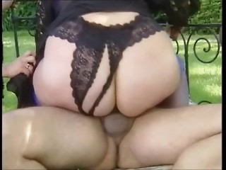 MOM AND FRIENDS 5 two matures in threesome