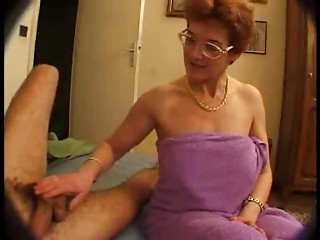 French Old Mommy Enticed Her BF Ally by TROC