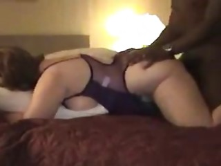55yr aged White Old bitch Bonks BBC as Hubby Films - Cuckold