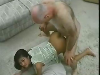 Taut Vietnam Young slut with Aged Man.