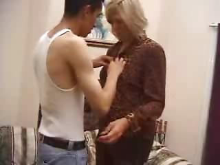 Lustful Elder Mother Screwed By Younger