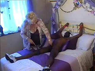 Plump Older and Big black cock