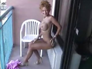 Hawt Aged undressed on balcony!!