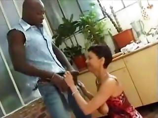 french older taking a big black cock in her butt