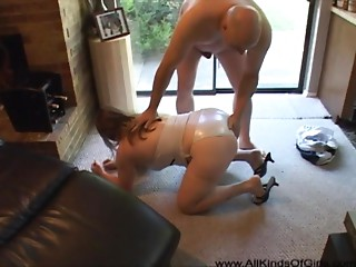 Large Booty Anal-copulation Cougar Perfect ass white girl