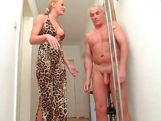 Dilettante Blond Older Tugjob