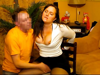Tractable Wife Receives Face Drilled By Her Russian Hubby
