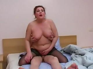 Aged fatty russian mammas and boyz