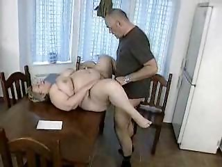 corpulent german cougar receives drilled