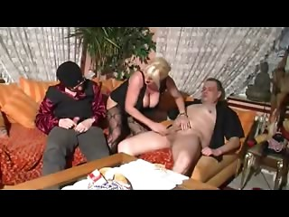 German Aged in Casting With Hubby And Other Stud