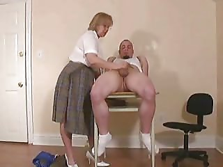 Aged Teacher s Handjob...F70