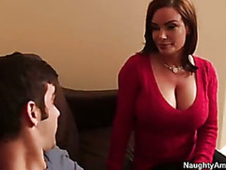 Sexy mama with huge pantoons daybed experience