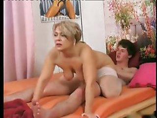 Granny seduce juvenile boy