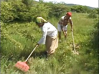 Grandmother Screwed in the Fields - Cireman