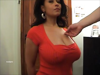 Danica Collins in red top