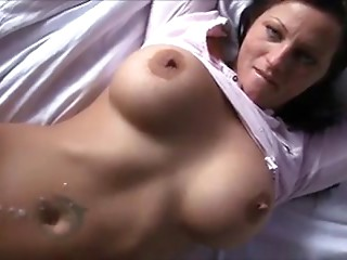 Breasty elder milf screwed by a juvenile guy
