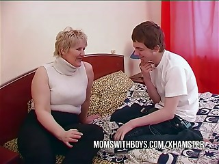 BBW Older Mama Seduces Sons Ally