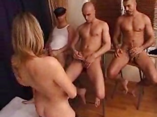 FRENCH Elder WOMAN Bang WITH 3 Chaps