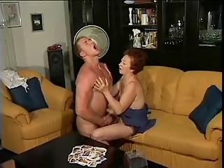 German old slut and her youthful paramour