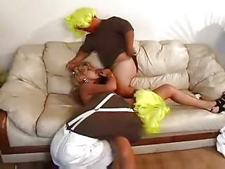 MILF Zarina and her 2 Midgets clowns...F70