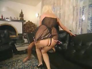 German Older Anal dance casting 2