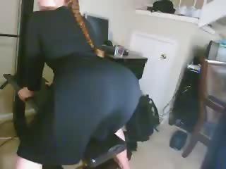 Perfect ass white girl Gazoo Shaking