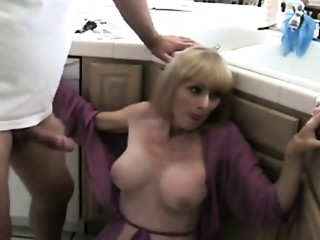 Taboo First collision and Mommy found my porn