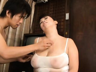 Fat Stacked Aged Sweetheart Yukari Orihara Bonks Younger Wang