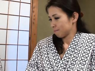 Yuuko Kuremachi sexy older Oriental doll in sexy position Sixty nine