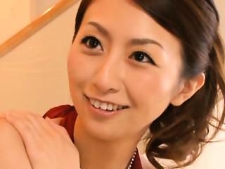 Rei Aoki Aged Japanese hottie has sex