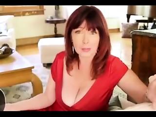Redhead Mamma Wishes Jock in her Gazoo