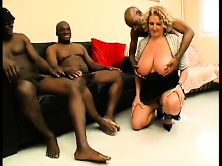 Lustful Large Natural Wobblers scene with Gangbang,Big Wobblers scenes