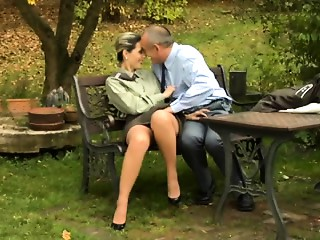 Exotic Unshaved scene with Outdoor,Big Pantoons scenes