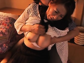 Rika Fujishita nasty aged sweetheart enjoys hard banging