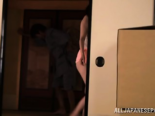 Asami Nanase wicked Oriental MILF is lewd housewife