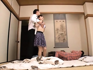Housewife Yuu Kawakami Drilled Hard During the time that Some other Stud Watches