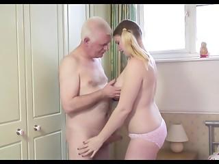 Sexy Grandad N Juvenile Slut
