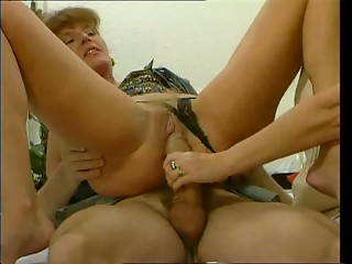 Naughty older anal invasion compilation