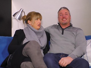 SexTapeGermany - German blond MILF drilled in a sexy sex tape