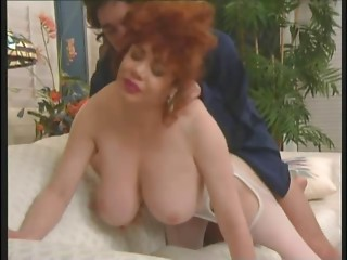 Legendary Older Large Tit Queen Kitten Natividad Receives Anal job