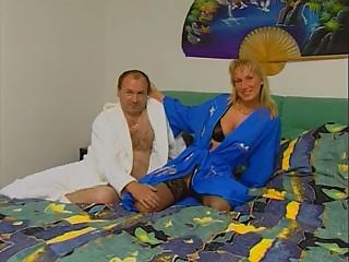 Hawt German Elder Pair Sex