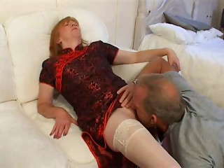 Ginger Brit Old Likes Fucking And Facial !