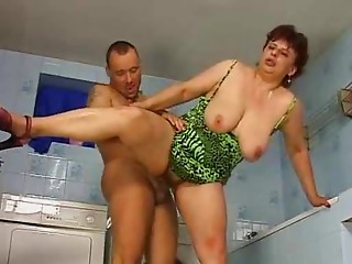 elder woman bang youthful guy
