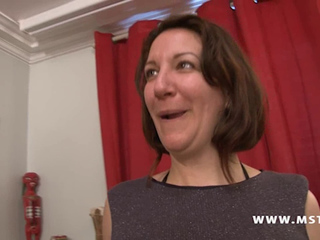 French mother in a Gang Group sex dream