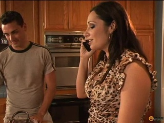 NastyPlace.org - Bigtitted mama and youthful man at home