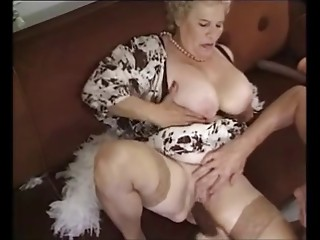 Aged Mature Old bitch Drilled